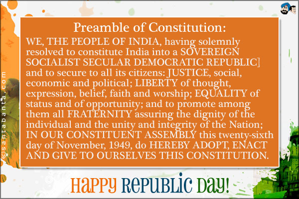 short essay on preamble of indian constitution Preamble and its importance the text of the preamble runs as follow: the constitution of india in hindi is the supreme law of india essay on preamble of indian constitution it is a living document.