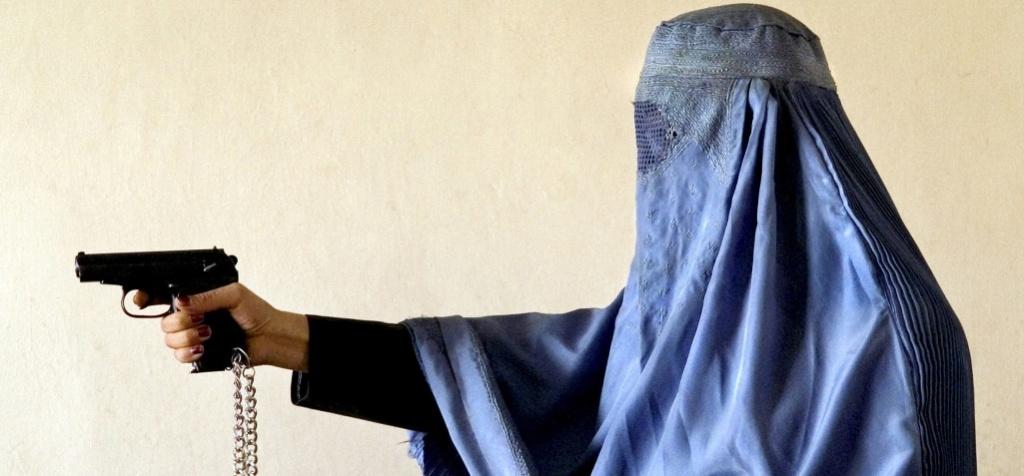 isis bans burqa liberals silent