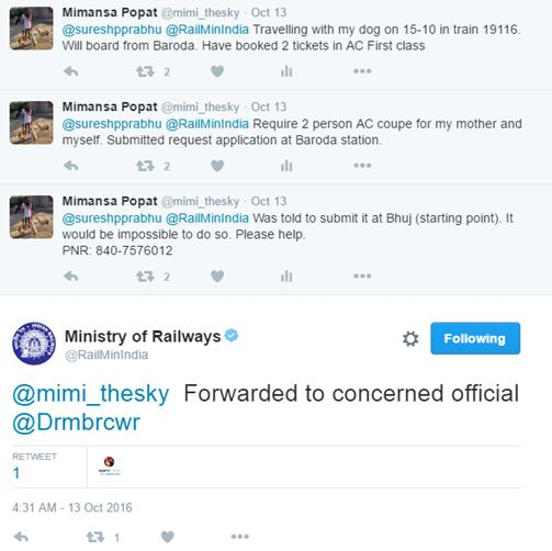 suresh prabhu indian railways