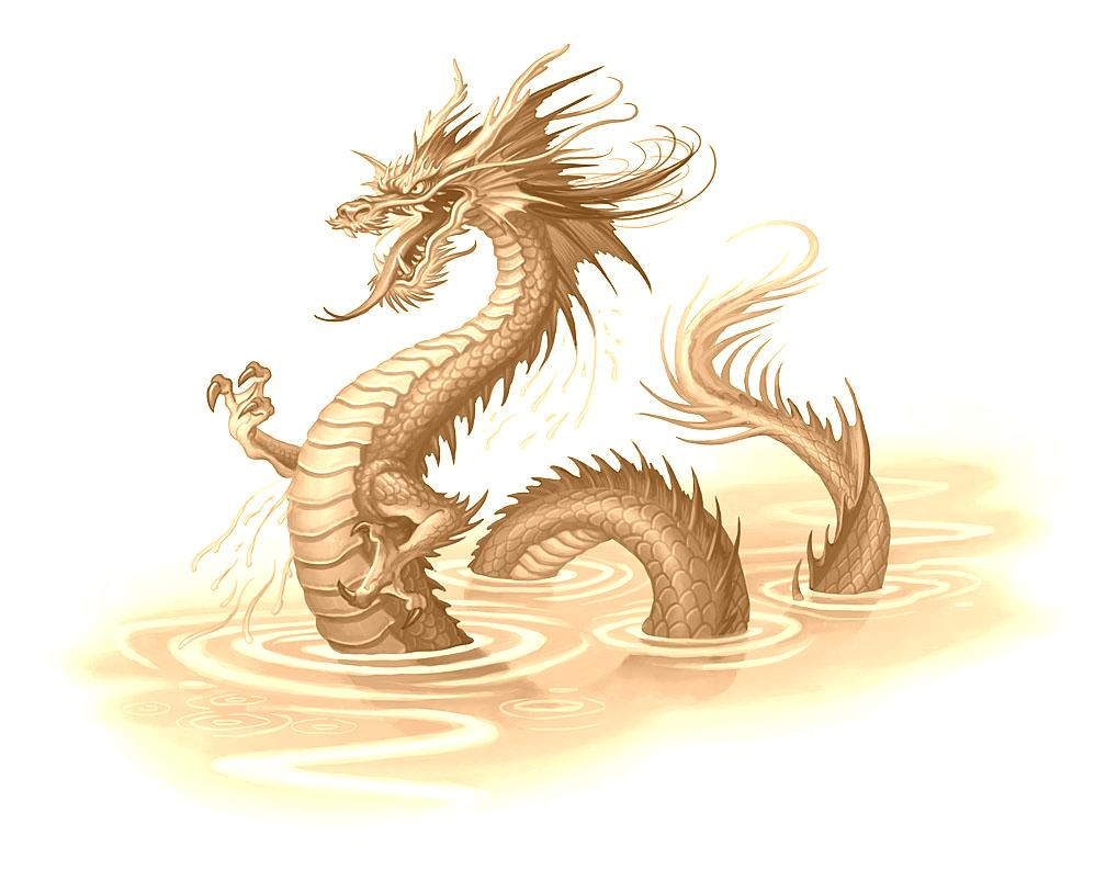 Chinese Dragon Waters