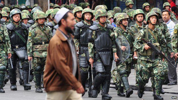 chinese china handling terrorism
