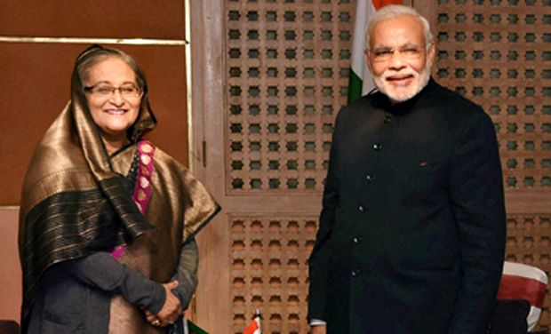 sheikh hasina in india