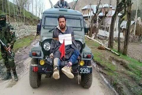 major gogoi indian army