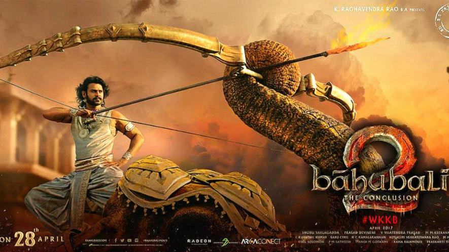 """Prabhas Baahubali The Conclusion Movie Wallpapers Ultra: Really """"The Hindu"""" You Don't Say"""