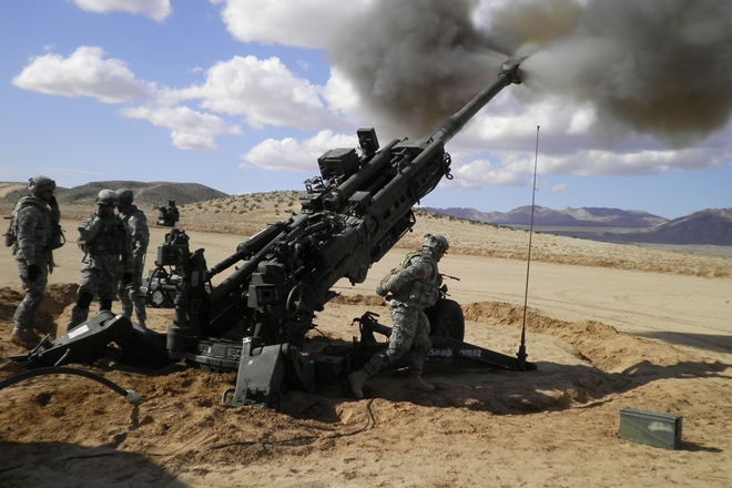 m-777 indian army