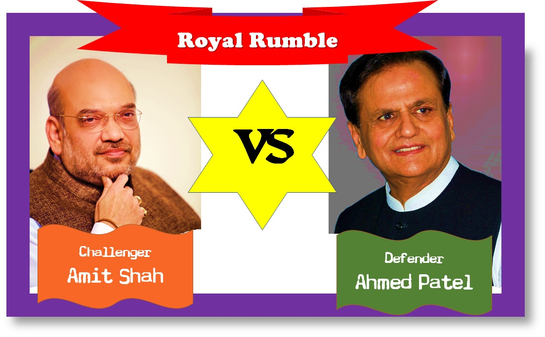 Amit Shah Ahmed Patel