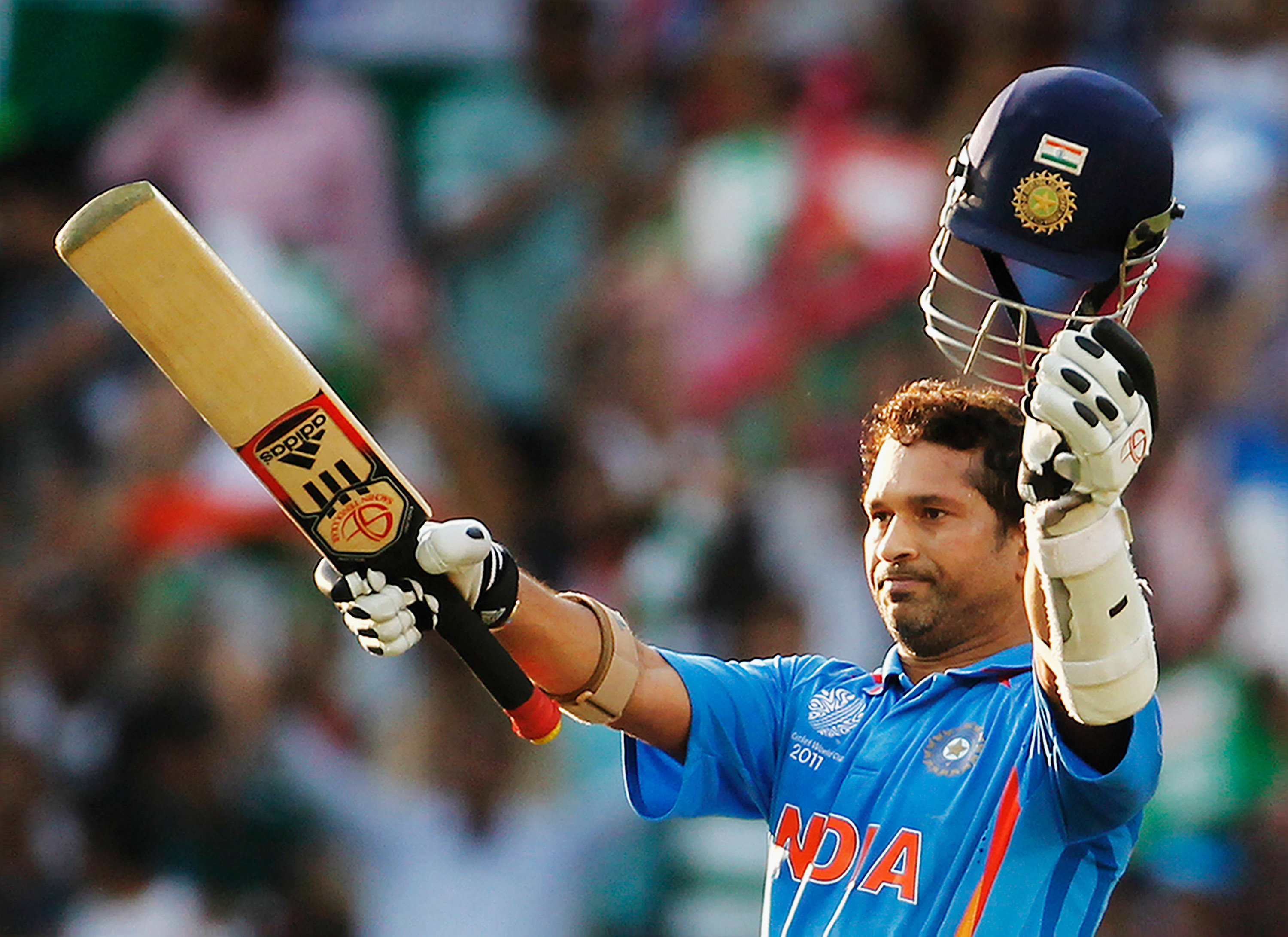 Image result for Sachin tendulkar feeding a troubled Bird