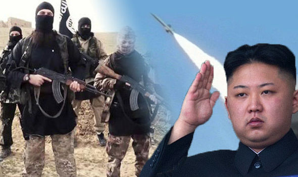 north korea isis