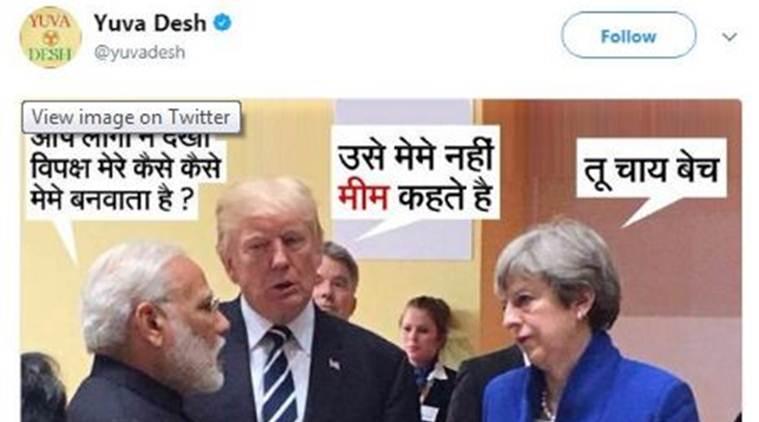 narendra modi congress tweet