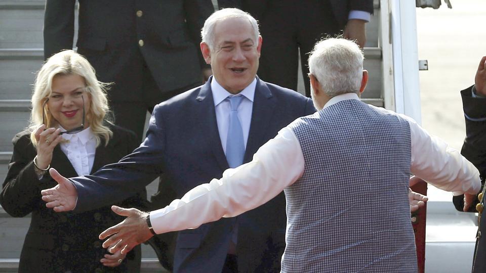 Netanyahu Modi Desalination Gift