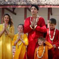Trudeau Indian Outfits, justin trudeau,, india trip