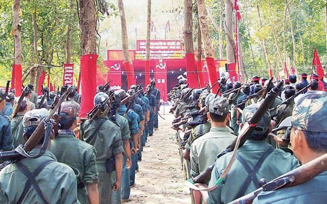 Urban Naxals security forces