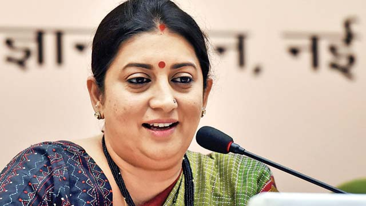 Smriti Irani against Fake news