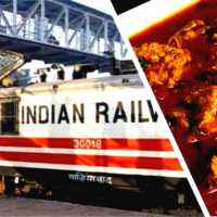 Railways Vegetarian Gandhi