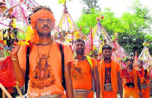 kanwariyas, kanwar yatra
