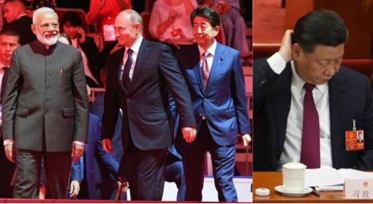 india japan russia china logistics pact