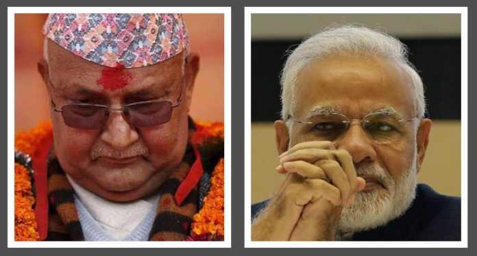 पीएम ओली भारत